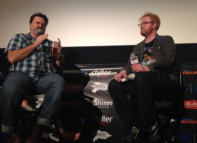 Tim Schafer and George Royer